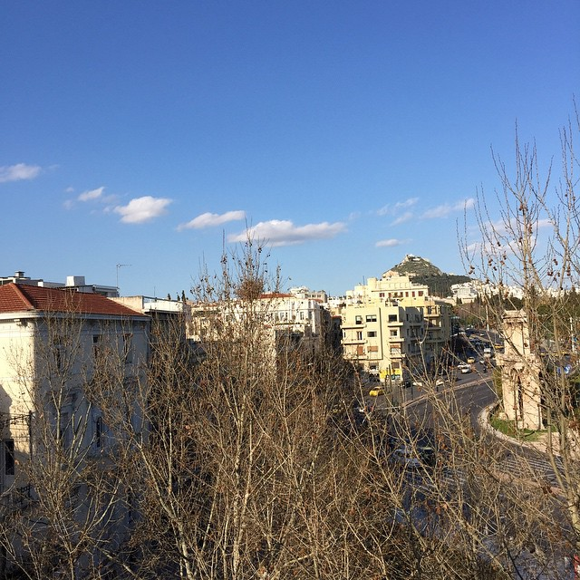 Beautiful #athens view ... #nofilter that's true #grecian blue