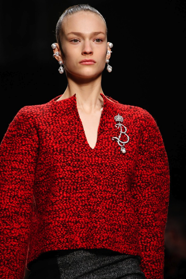 Balenciaga Earrings Fall 2015