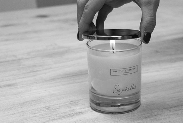 Easter Candle Gift Guide   Tips on how to burn a Candle-use lid