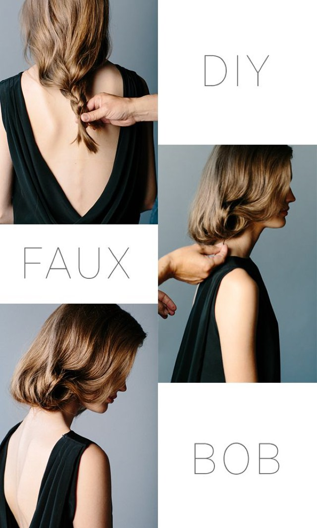 Hair inspiration Faux Bob