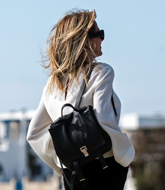 Proenza Schouler backpack street style