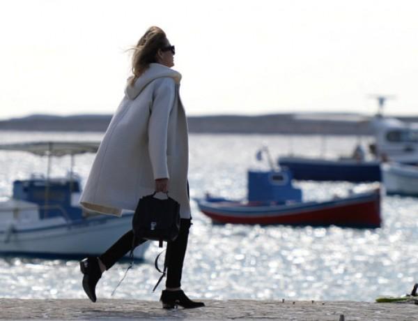 Isabel Marant white coat Trendsurvivor