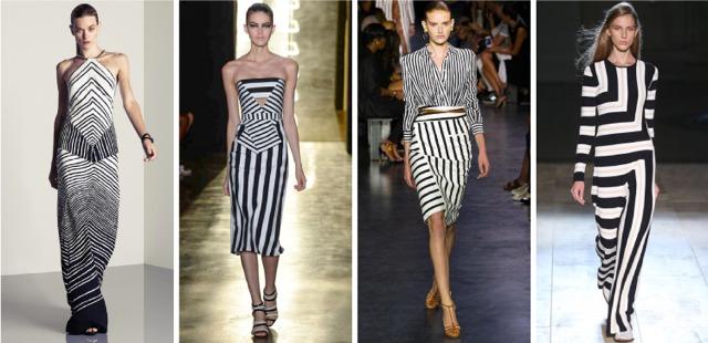 NYFW-ss15-black-and-white-stripes