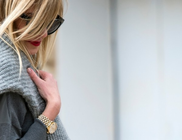 Rolex Daydate Gold trendsurvivor Nina Papaioannou