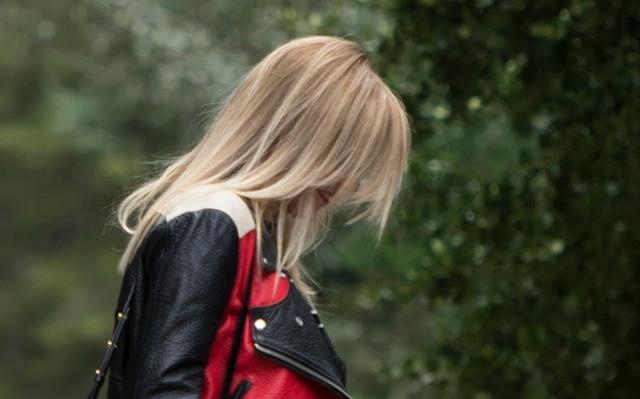 Straight hair Acne jacket