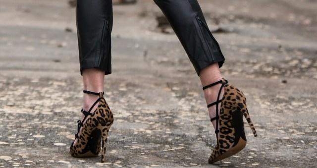 Tabitha Simmons Josephine leopard