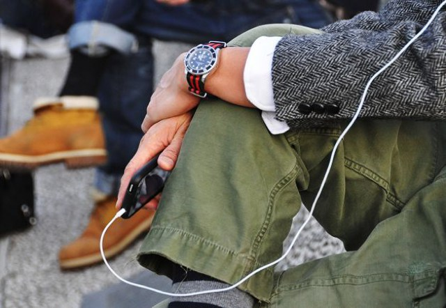 Tommy Ton Street Style Rolex custom