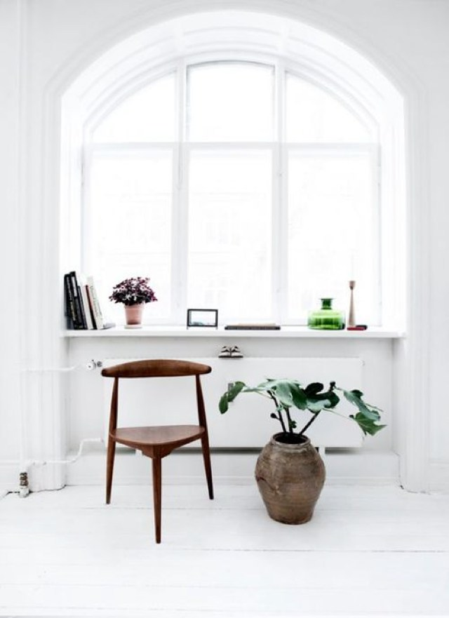 Interior decor inspiration stylish all white home office ideas trendsurvivor Home decor survivor 4