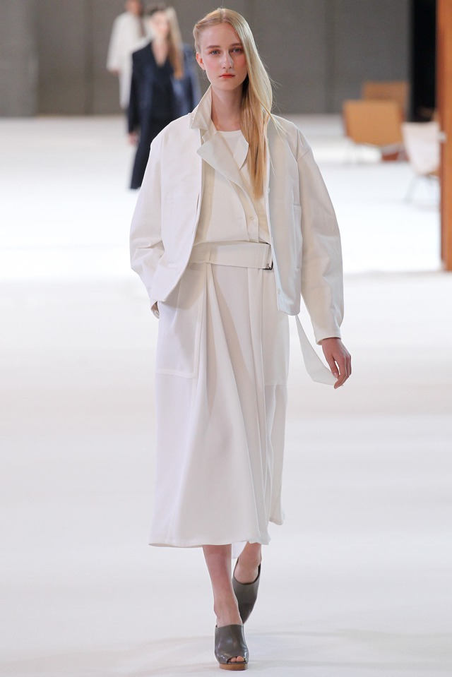 Christophe Lemaire white