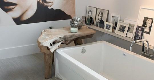 Designers Laura Bohn and her husband, Richard Fiori bathroom