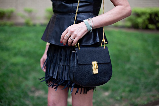 Dallas Street Style |  So Fringed