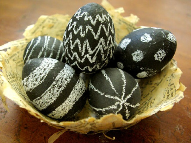 Easter Eggs Decorating Idea
