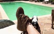 Aegina Island | Isabel Marant Bobby Wedge Suede Sneakers