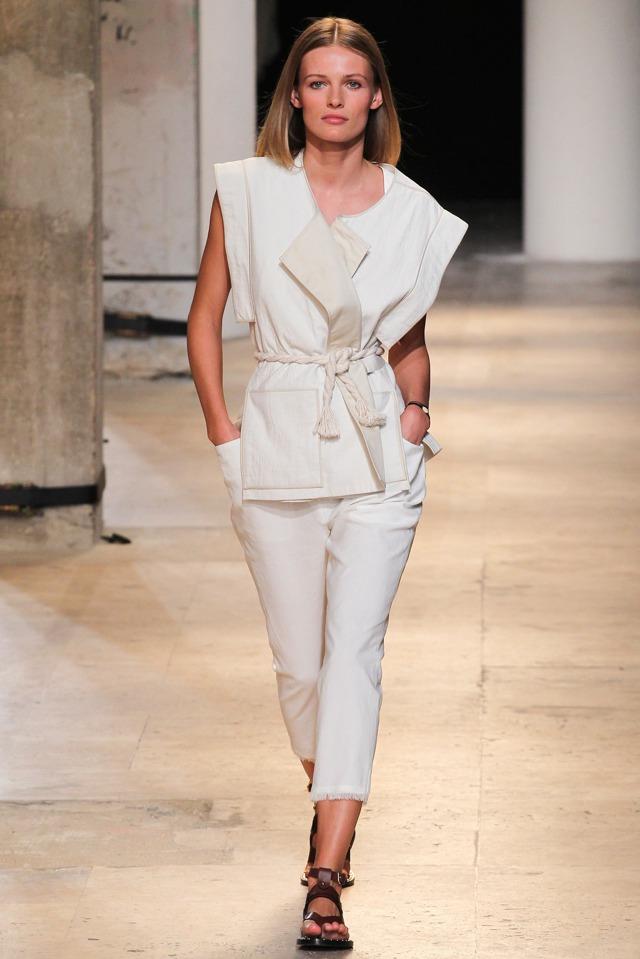 Isabel Marant white look