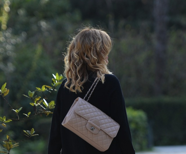 Chanel beige bag