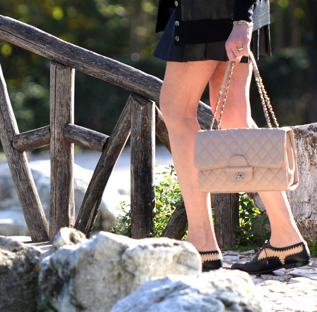 Ruffle Leather mini skirt TrendSurvivor Fashion Blogger08