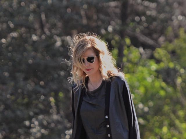Ruffle Leather mini skirt TrendSurvivor Fashion Blogger09