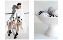 Stylish Easter Eggs Decorating Ideas | Go black and white