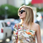 Dallas Street Style | Mary Katrantzou Dress