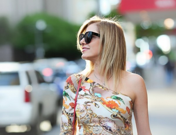 Dallas Street Style- Mary Katrantzou dress TrendSurvivor10
