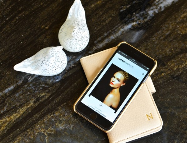 GiGi New York iPhone 6 white leather personalized case