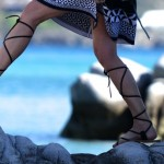 LuisaViaRoma Promo Code | FridayShoesDay  | Isabel Marant Leather Gladiator Sandals