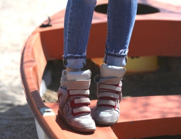 Isabel Marant Ivory sneaker Bekett TrendSurvivor00