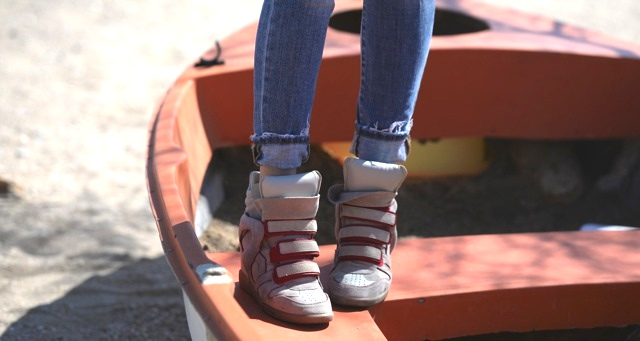 Isabel Marant Ivory sneaker Bekett TrendSurvivor