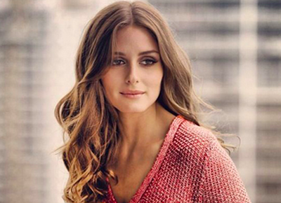 Olivia Palermo long wavy hair