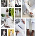 Searching for the perfect pair of white jeans