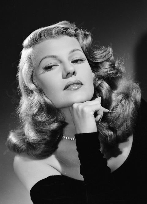 RITA HAYWORTH hair secret oil lemon