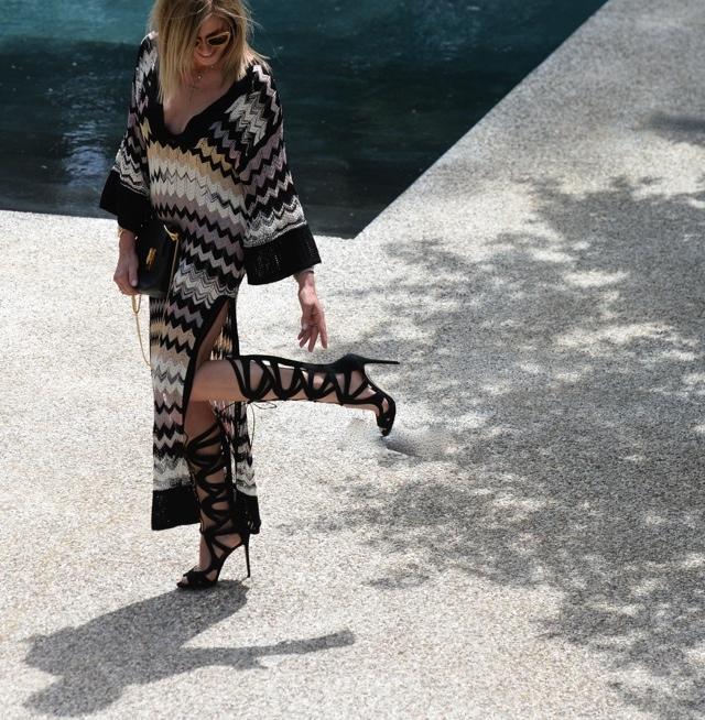 TrendSurvivor - Missoni Dress Chloe Drew- Gladiator Sandals Street style25