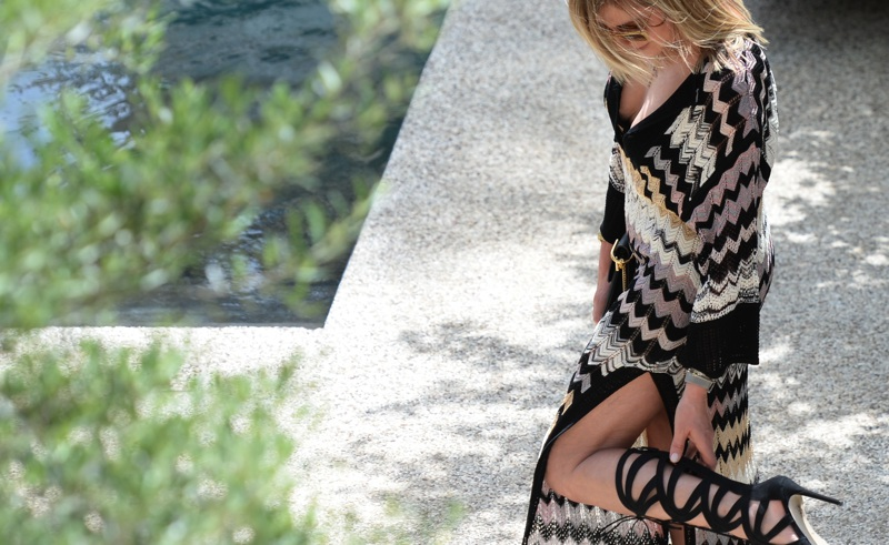 Tsakiris Mallas | Uber-Chic Grecian High Heel Gladiator Sandals