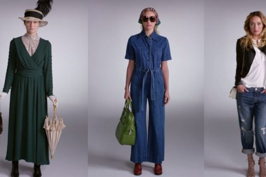 100 Years of American Fashion History Video