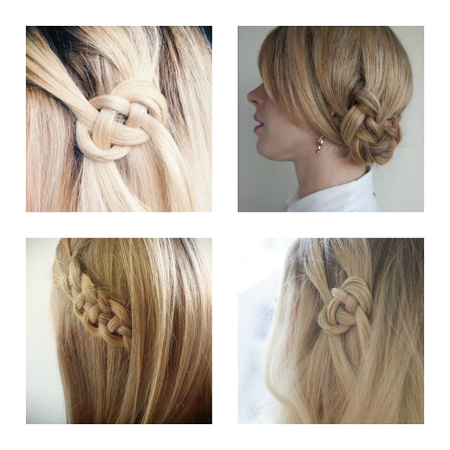 Celtic knot hairstyle ideas