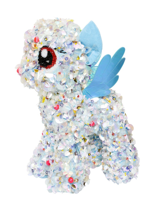 Little Pony wearing Delpozo