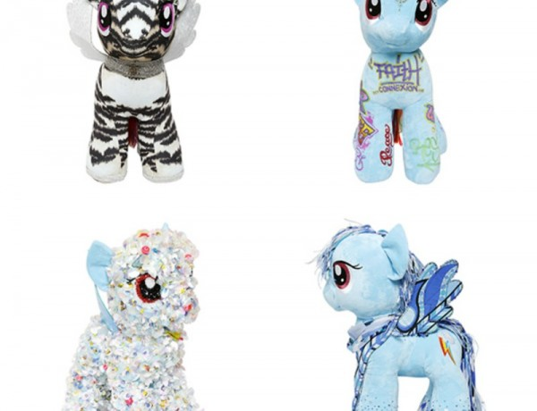 Designer My Little Pony for Save the children, Etro, Cavalli, Delpozo, Faith Connection