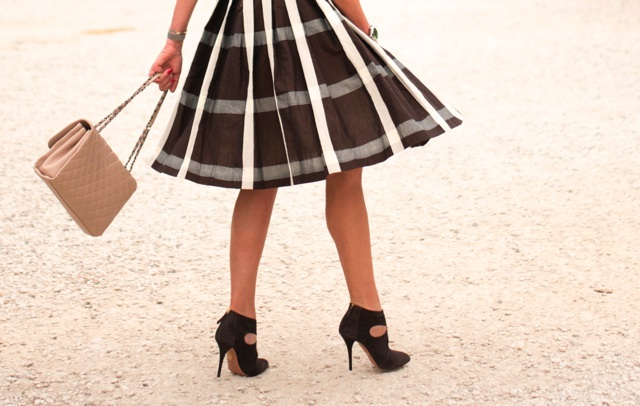 Full skirt,suede ankle boots high heel Aquazzura booties