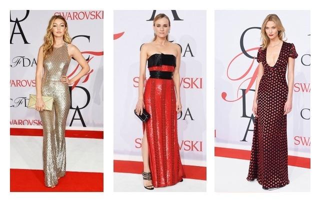 Gigi Hadid, Diane Kruger, Karlie
