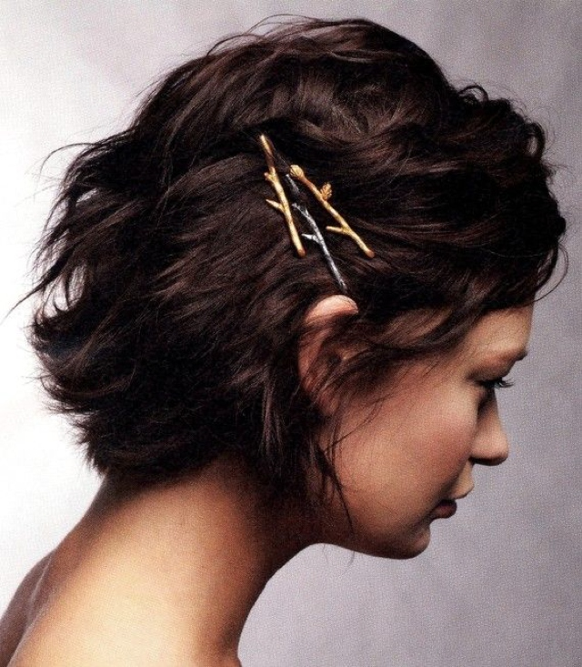 Hair ideas with hair pins 02