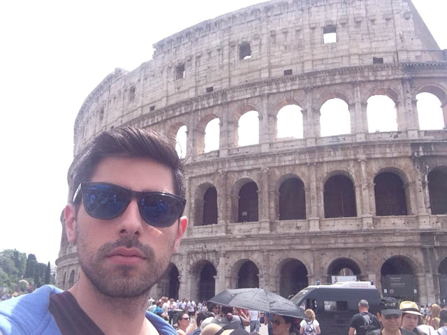 Nikos Svolos Colosseum, Important attractions in Rome