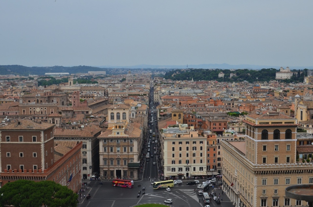 Rome View from Il Vittoriano