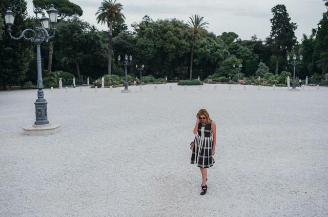 TrendSurvivor Italian Style, Villa Borghese gardens