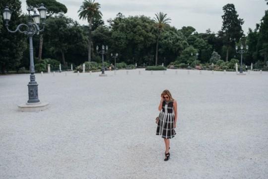 TrendSurvivor Italian Style Villa Borghese gardens