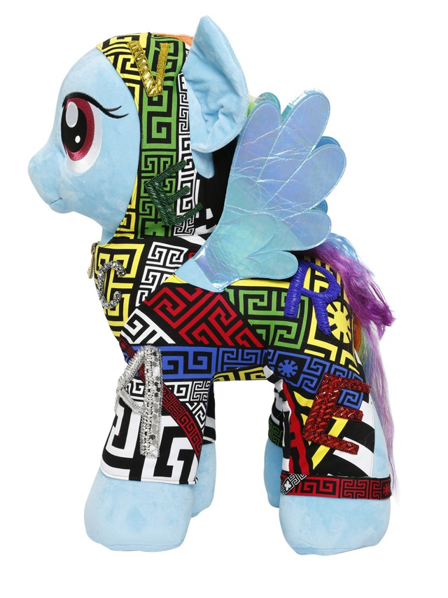 My little giant pony for Save the Children by Versace