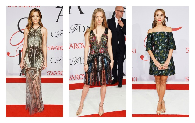 2015 CFDA Awards Best Dressed-michelle monaghan,amanda seyfried,harley viera-newton CFDA awards