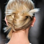 Banana Updo Hairstyle | A fresh French Twist