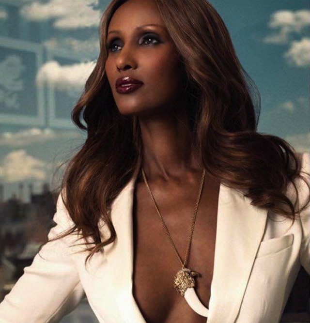 Iman Vanity Fair best dressed