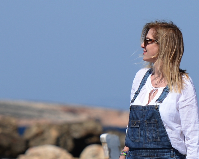 Jeans overalls blogger style