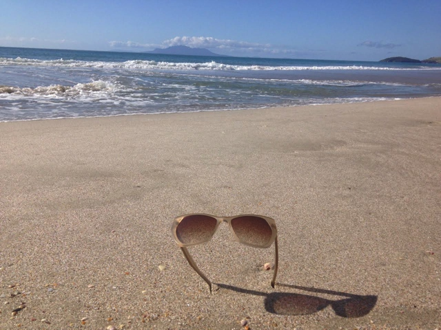 New Zealand Coastal Kam Dhillon sunglasses travel to Pakiri Beach